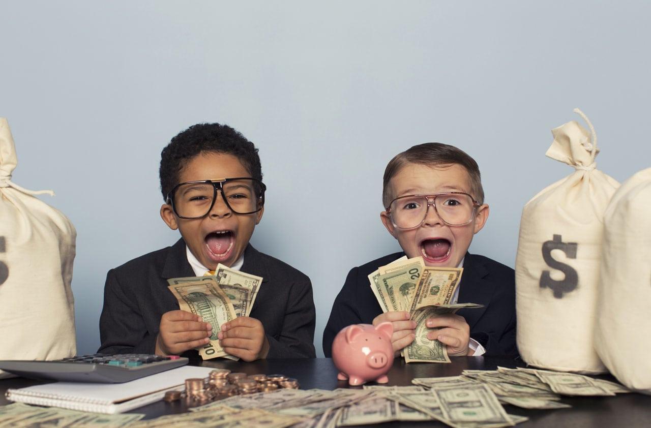 100 ways for kids to make money