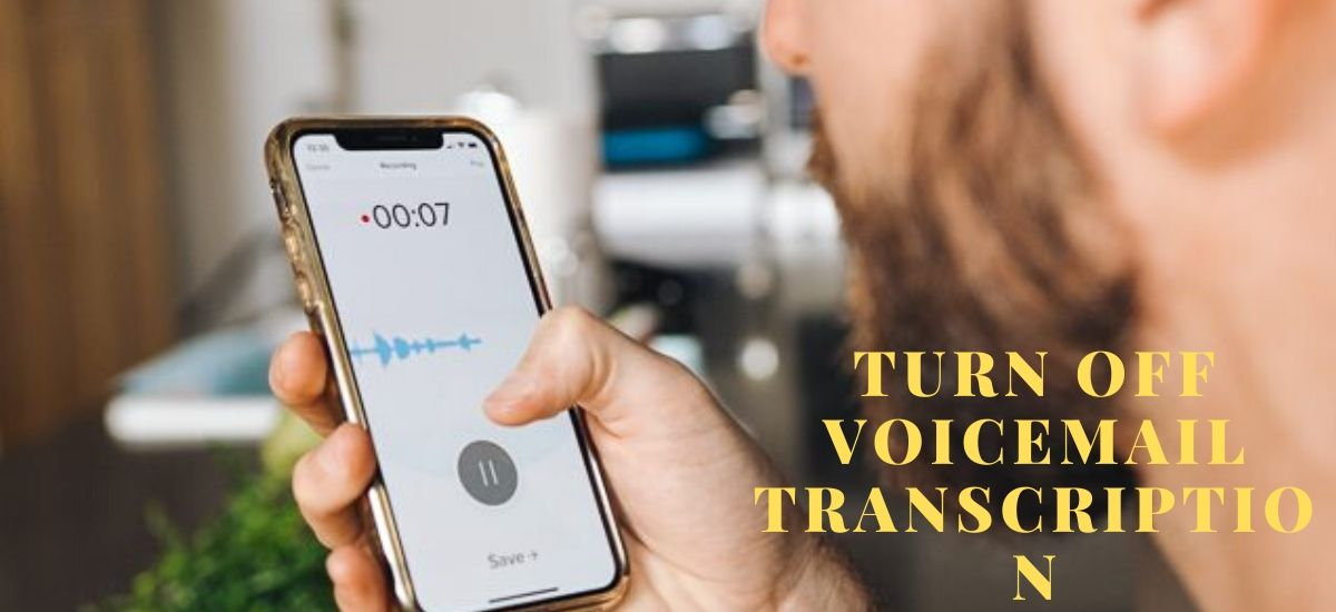 How to turn off transcription on iPhone