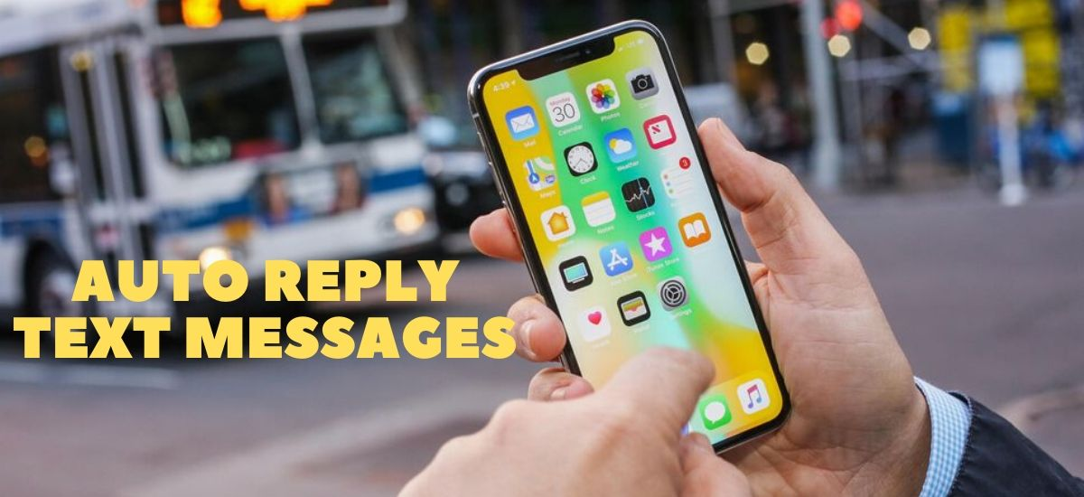 Steps How To Auto-reply Text Messages In iPhone